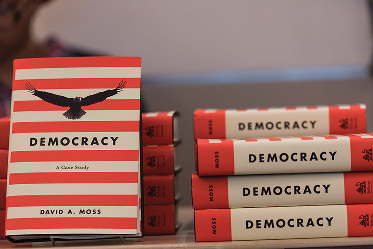 David Moss discussed the history and future of democracy and his new book