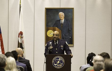 Chicago Police Superintendent Eddie Johnson spoke at the Chicago Bar Association's event series on Feb. 28.