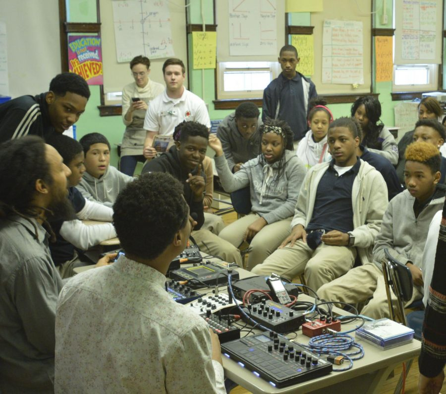 The Motivate & Encourage Music Appreciation program at Stone Academy has now expanded to Langford Community Academy on the South Side.
