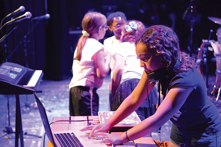 Chicago's Girls Rock! organization works to empower young girls and creative expression through music, according to operations manager Kit Curl.