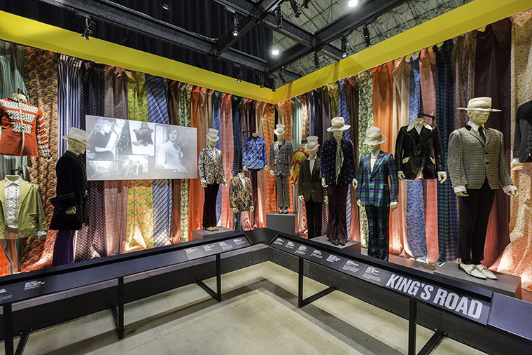 """Exhibitionism—The Rolling Stones"" will be at Navy Pier until July 30. The exhibit illustrates the musical and cultural impact of the Stones."