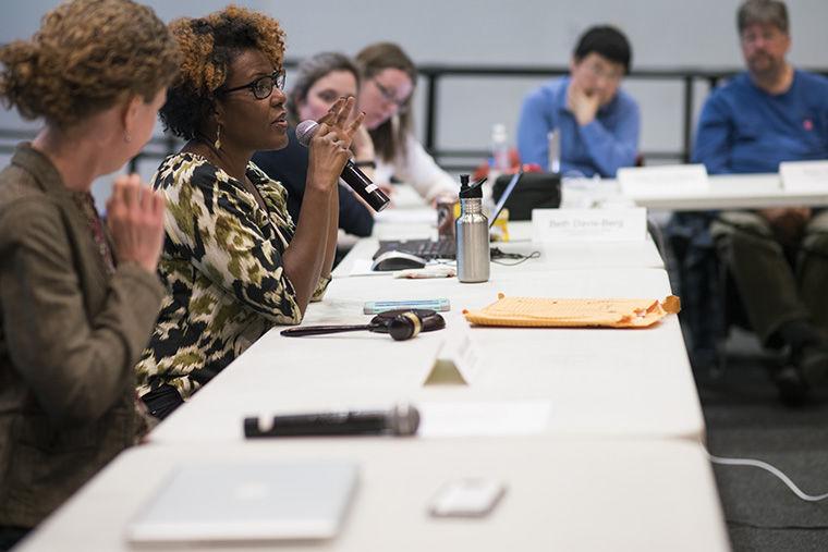 Associate Professor in the Dance Department Raquel Monroe will replace Greg Foster-Rice as Faculty Senate President.