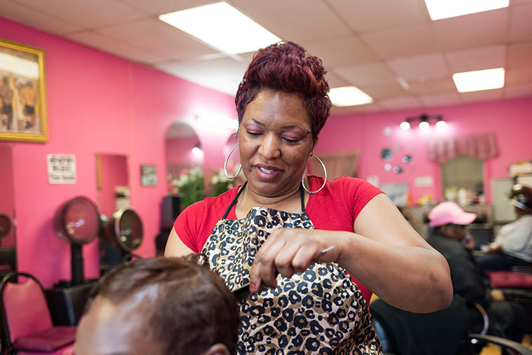 Brigette Maxwell, owner of Total Look Beauty Salon, 7849 S. Loomis Blvd., will provide 100 high school seniors with free hairstyling for prom and graduation.