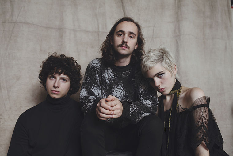 New York-based group Sunflower Bean, which will be headlining this year's Manifest festival, got its start playing DIY shows and practicing in band member Jacob Faber's basement; the trio has since released multiple tracks and will go on tour with The Pixies this summer.