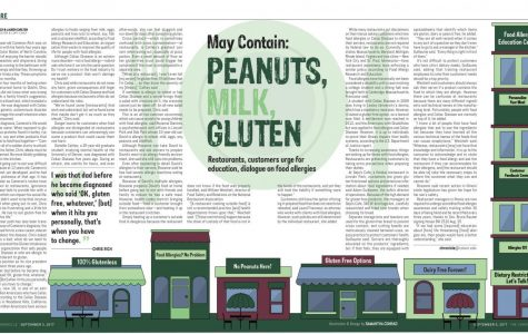 May contain: peanuts, milk, gluten: Restaurants, customers urge for education, dialogue on food allergies