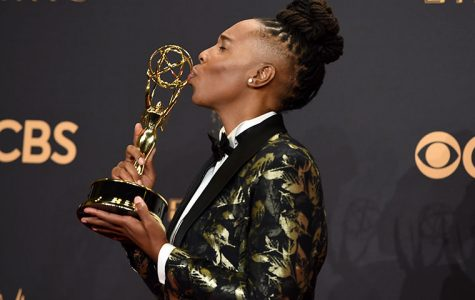 "Aziz Ansari and Lena Waithe were awarded an Emmy in the outstanding comedy writing for a television series category for co-writing an episode in the ""Master of None"" Netflix original series called ""Thanksgiving""—an autobiographical episode depicting a young woman coming forward to her family about her sexuality."