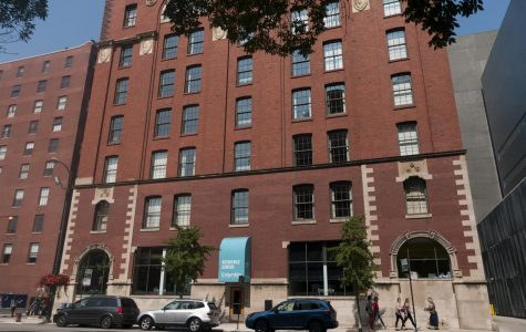 The 731 S. Plymouth Court Building, Columbia's last remaining, self-owned student housing center has been put up for sale.