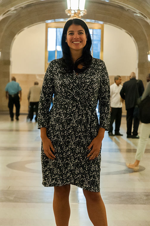 Chicago City Clerk Anna Valencia.