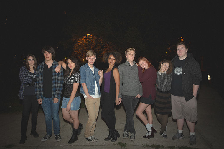 """""""Grovedale High"""" is a teen drama web series created and produced by Columbia students. The show is set in 2005 and follows the life and love tribulations of emo, underdog high school students."""