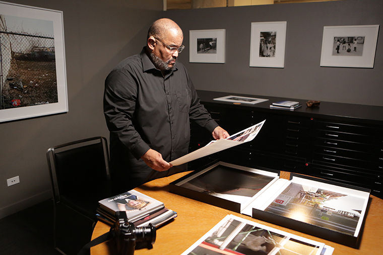 """Known as the """"Genius Grant,"""" the 2017 MacArthur Fellowship was awarded to Photography professor Dawoud Bey."""