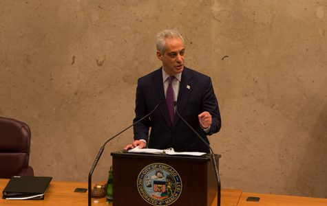 Mayor Rahm Emanuel spoke about directing the budget towards police training, funding Chicago Public Schools and more during his Oct. 18 budget address at City Hall.