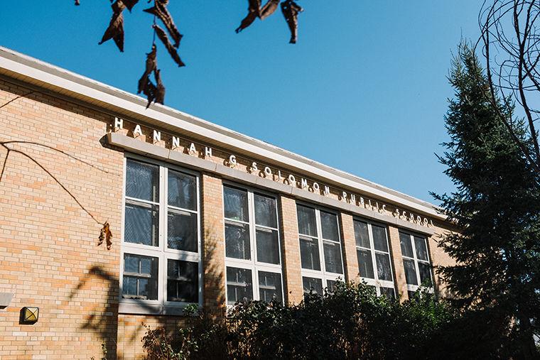 Peterson Park's Hannah G. Solomon Elementary School, 6206 N. Hamlin Ave., serves 360 students who speak more than 40 languages among them.