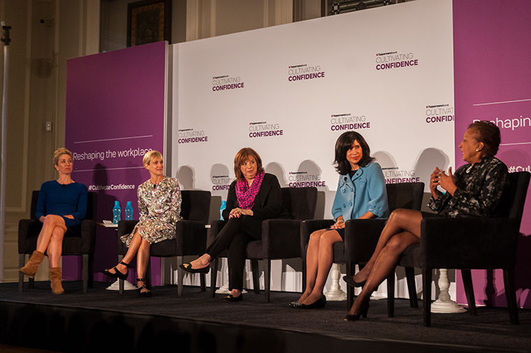 A panel of women leaders discussed the challenges that come with being a women in the corporate world.
