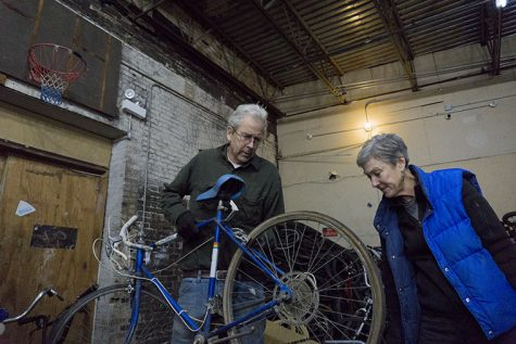 Chicago couple Amy Little and Lee Ravenscroft operate Working Bikes, a nonprofit that has donated more than 50,000 bikes worldwide since 1999. Bikes give residents of impoverished countries mobility and independence, Little said.