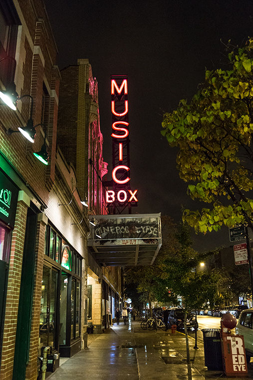 The Music Box Theatre will host the Cinepocalypse, a festival showcasing horror films, from Nov. 2-9. 3733 N. Southport Ave.