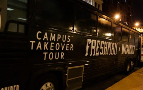 Jason Maek and Zaena have visited more than 24 campuses and plan to vist 47 in all before their New Year's Eve release of their album Freshman.