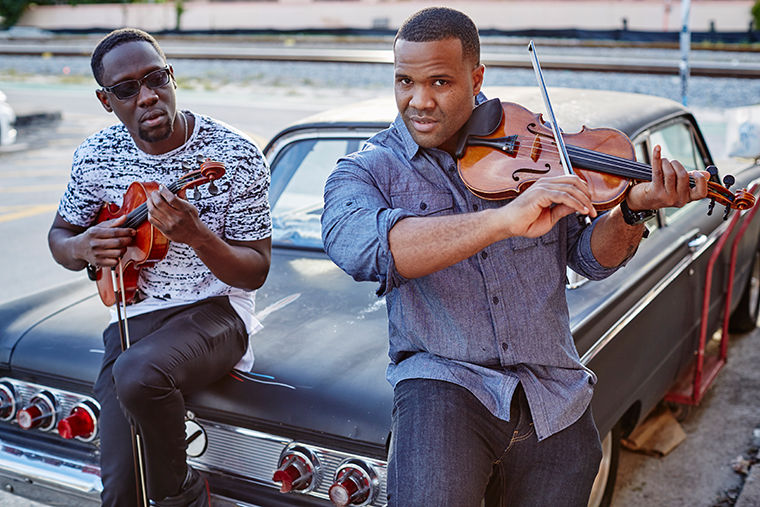 Black+Violin+mixes+hip-hop+and+classical+to+create+a+unique+sound+that+has+garnered+the+duo+musical+success.