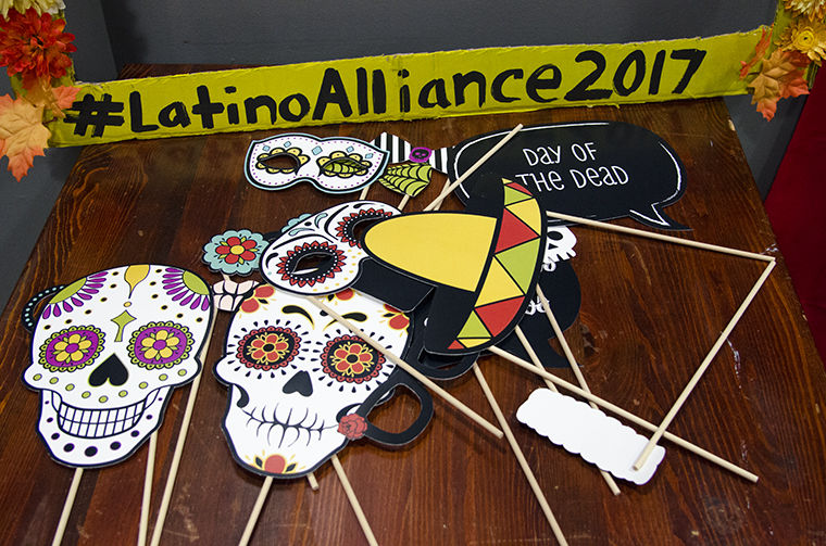 A+DIY+photobooth+was+one+of+the+many+elements+of+Latino+Alliance%27s+D%C3%ADa+de+los+Muertos+celebration+at+Stage+Two%2C+618+S.+Michigan+Ave.%2C+Oct.+27.