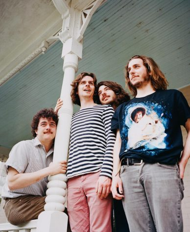 The Districts 'manipulate' sound onstage and off