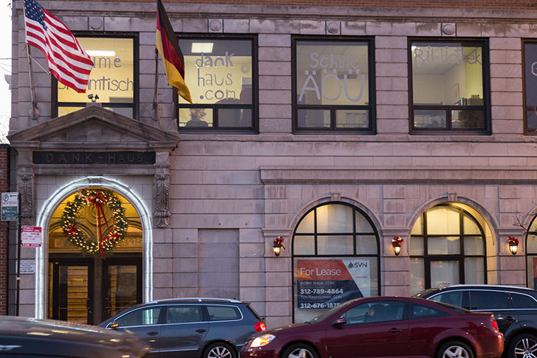 The DANK Haus German American Cultural Center, 4740 N Western Ave.