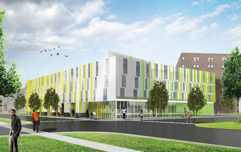 The KLEO Arts Residence, located on the corner of Garfield Boulevard and Michigan Avenue, will provide affordable housing, convenient work space and easy access to public transportation for artists.