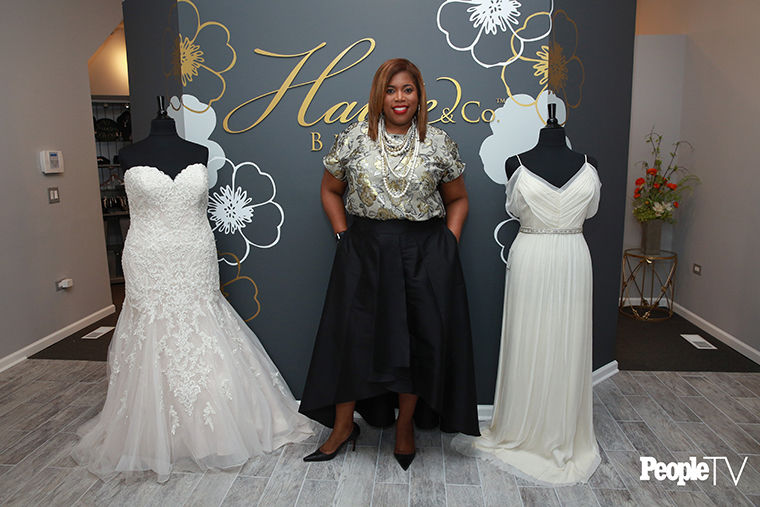 Shannelle Armstrong-Fowler opened her own bridal shop, Haute & Co. Bridal Boutique, as a way to help plus-size brides.