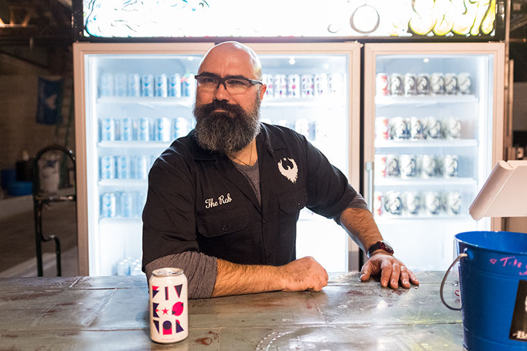 Rob Sama, founder of Baderbrau in collaboration with Lyft launched a new beer, Five Star Lager at Baderbrau Brewery in 2515 S. Wabash Ave. on Jan 18.