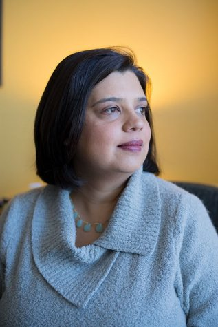Neha Gill, executive director of Apna Ghar, Inc., poses for a photograph Jan. 17 in the organization