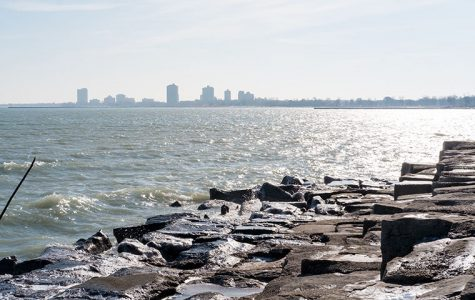 The City of Chicago is the second entity to sue U.S. Steel, a corporation that sits across the lake in Portage, Indiana, visible from Promontory Point in Hyde Park. U.S. Steel violated its clean water permit when it discharged chromium into the lake last year.