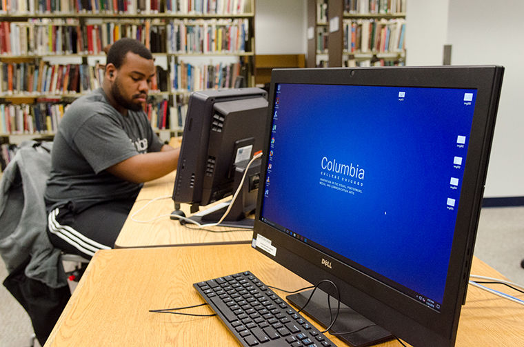 New computer stations have opened throughout the various floors of Columbia's Library, 624 S. Michigan Ave., as part of the college's initiative to reopen lab spaces Jan. 22.