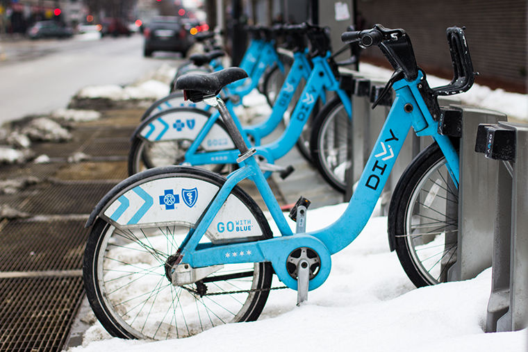Divvy's new Winter Medalist program will run throughout February and reward riders for taking cold weather trips with tiered accolades.