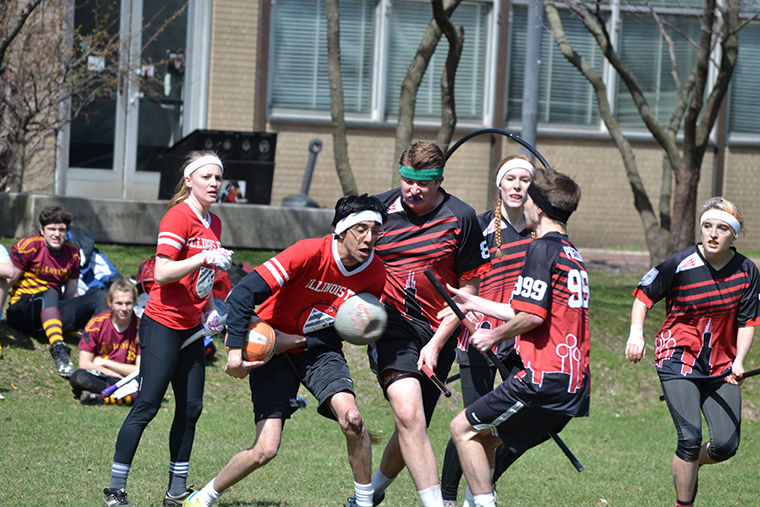 Columbia's Quidditch team has transformed from a club into a competitiveorganization, with hopes to make it to nationals in the upcoming year.