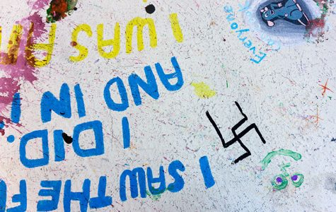 Swastikas found in Dwight graffiti room
