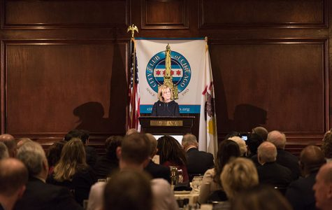 State Rep. Jeanne Ives, R-Wheaton, accused Gov. Bruce Rauner of serving the interests of Chicago above suburban and downstate Illinoisans at a Feb. 5 City Club of Chicago speech.