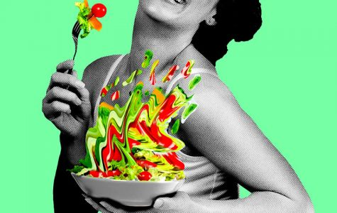 """Women Laughing Alone with Salad,"" opening March 23 at Theater Wit, 1229 W. Belmont Ave., takes the classic stock image meme and turns it on its head."