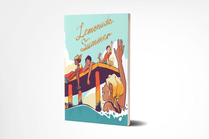 """Lemonade Summer,"" by Gavi Mendez, is a comic book consisting of seven stories with characters representing  LGBTQ  people of color."