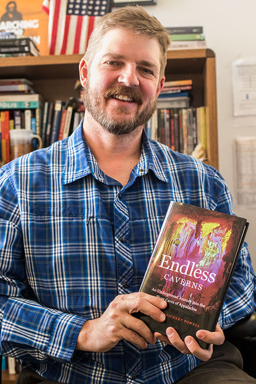 Douglas Reichert Powell, assiciate English professor, is about to release his second book titled