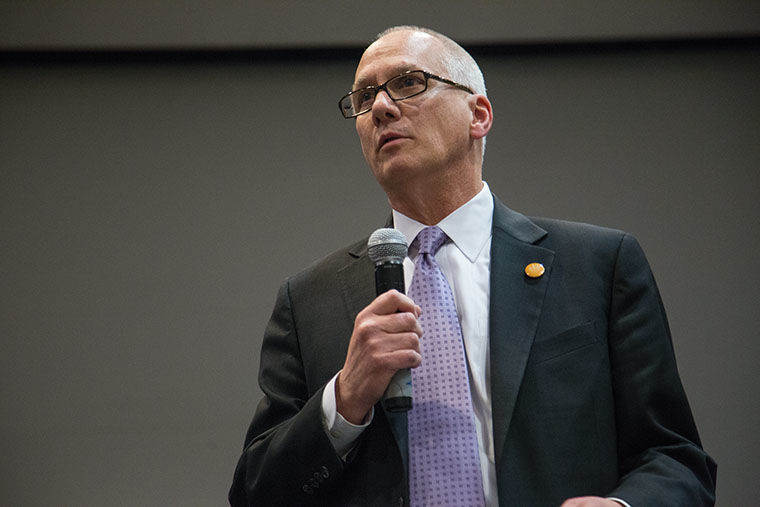Reflections & Replacements: College talks provost departure