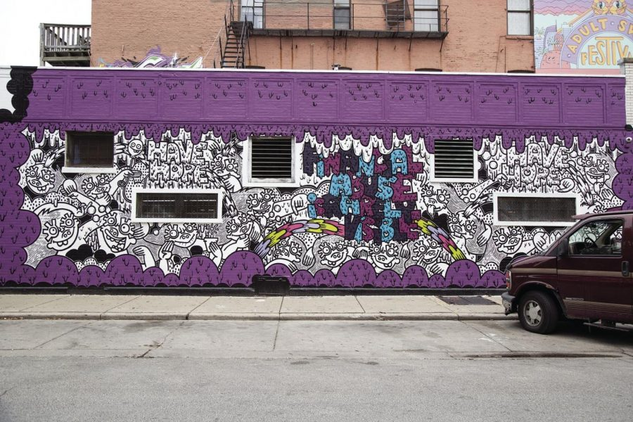A proposed ordinance will make clear distinction between public art and graffiti.