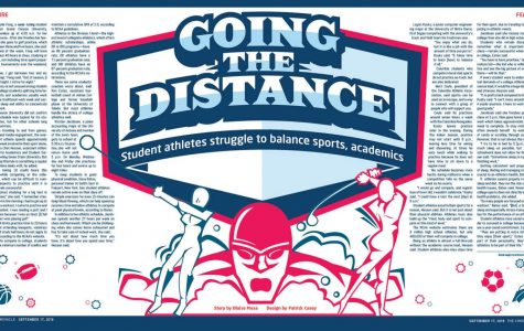 Going the distance: student athletes struggle to balance sports, academics