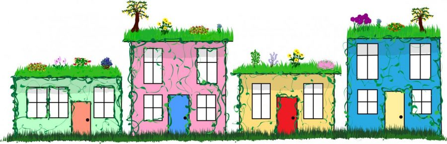 Green roofs take heat off low-income areas