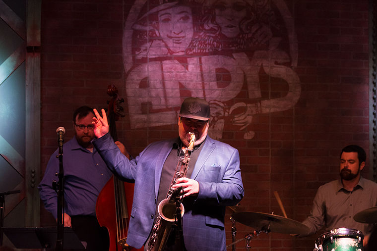 Acclaimed Chicago saxophonist Frank Catalano plays for the crowd at Andy's Jazz Club Sept. 11 in River North.