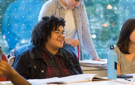 Junior poetry major Lily Someson is the Vice President of Speak Your Truth. The creative writing club meets every Tuesday from 4:30 to 6:00 PM in the Columbia Library Reading Room.
