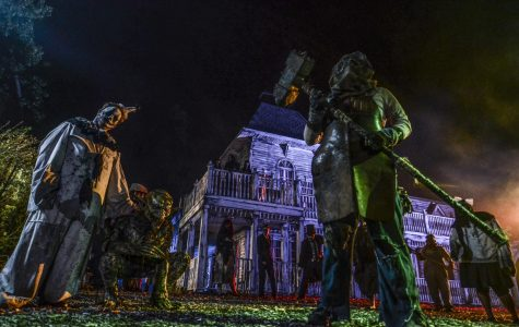 Post-grad to poltergeist: Alumni produce haunted house
