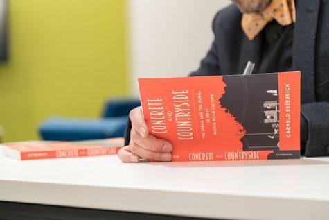 Library showcases associate professors new book