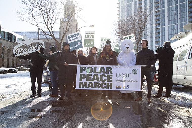 St.+Pauls+United+Church+of+Christ%2C+2335+N+Orchard+St%2C+and+UCAN+hosted+their+5th+annual+Polar+Peace+March+Jan.+20.