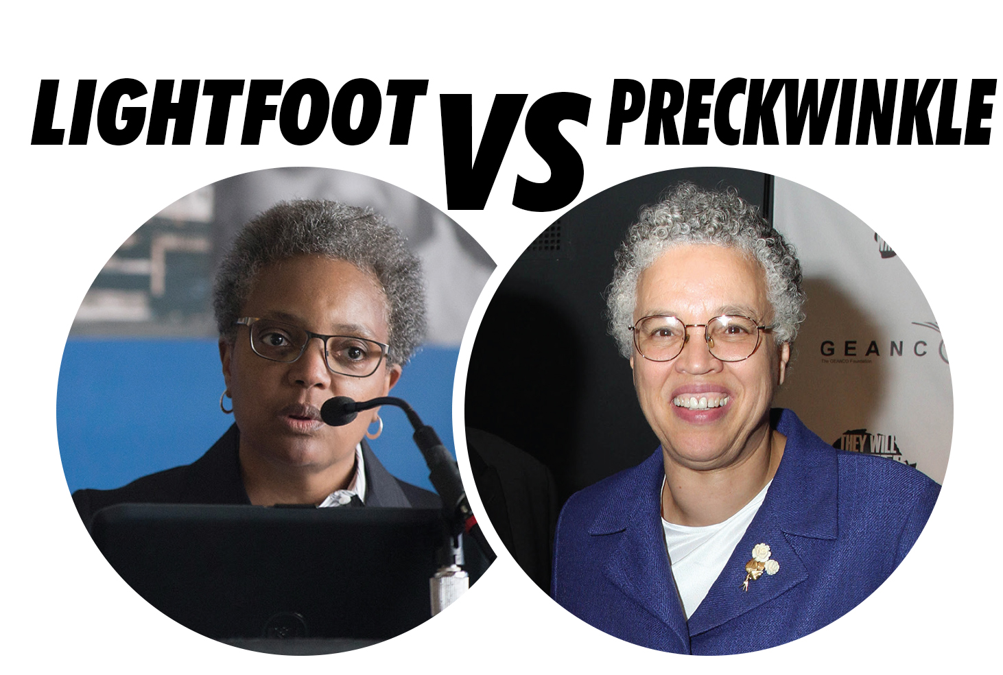 Toni Preckwinkle, Lori Lightfoot headed for mayoral runoff election