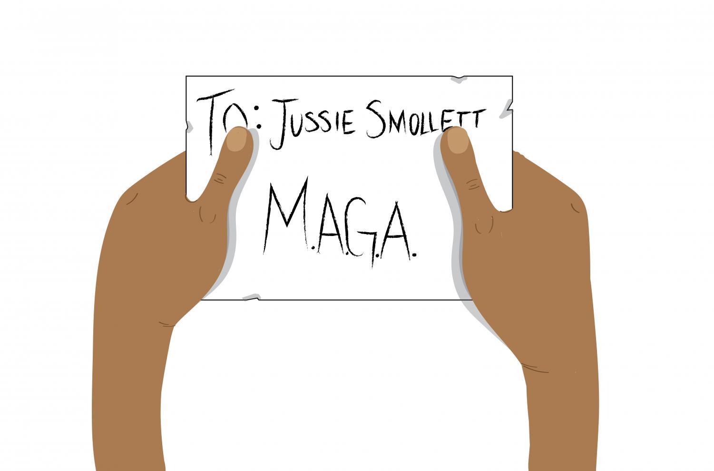 Smollett cannot discredit victims