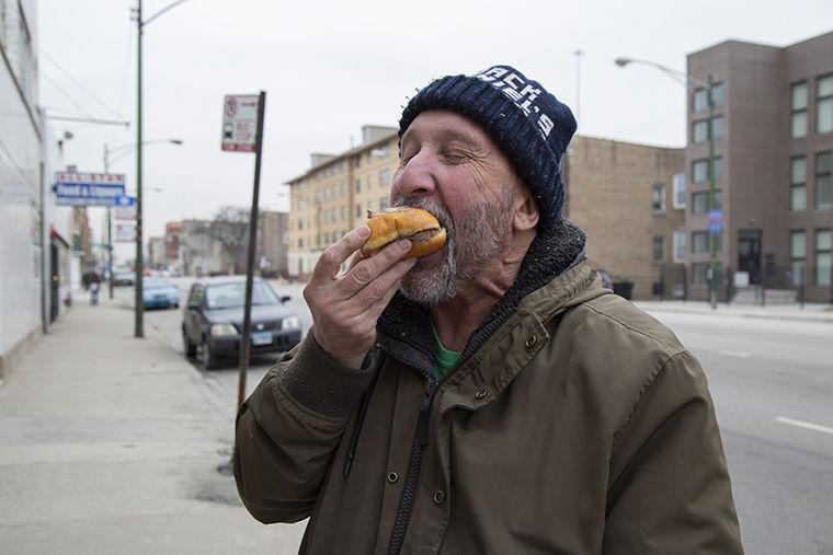 Steve+eating+Paczki+infront+of+Bridgeport+Bakery%2C+2907+S+Archer+Ave.+Feb.+28.