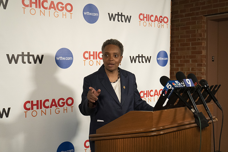 Lori+Lightfoot+has+cited+the+need+for+change+and+breaking+away+from+the+status+quo+during+her+campaign+against+Toni+Preckwinkle+to+be+Chicago%27s+next+mayor.